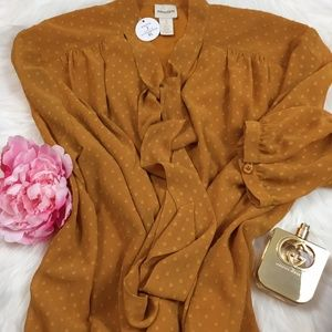 CHICO'S Sz XL Long-Sleeve Women Blouse / Tops New